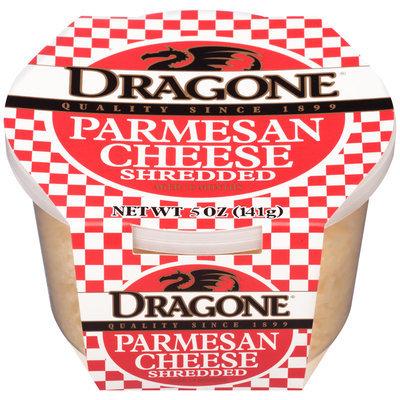Dragone® Shredded Parmesan Cheese 5 oz. Tub