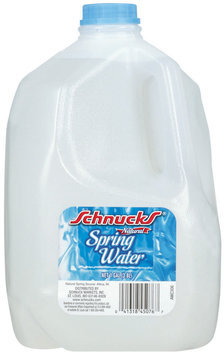 Schnucks Natural Spring Water