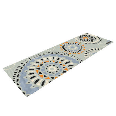 Kess Inhouse Eastern Promise by Gill Eggleston Yoga Mat
