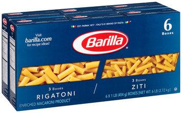 Barilla® Rigatoni/Ziti Pasta 6-1 lb. Boxes