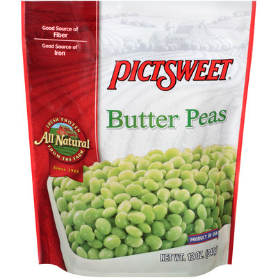 Pictsweet® Butter Peas 12 oz. Bag