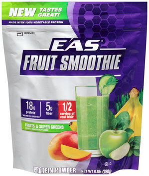 Abbott EAS® Fruits & Super Greens Smoothie Protein Powder 0.6 lb. Bag