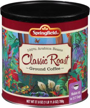 Springfield® Classic Roast Ground Coffee