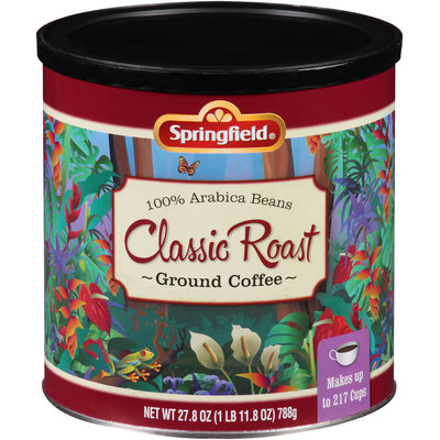 Springfield® Classic Roast Ground Coffee