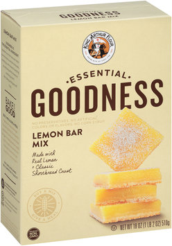 King Arthur Flour Essential Goodness Lemon Bar Mix 18 oz. Box