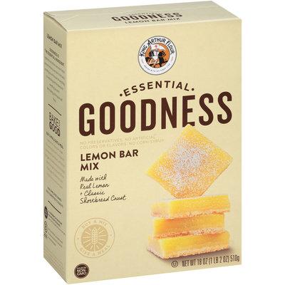 King Arthur Flour Essential Goodness Lemon Bar Mix 18 oz. Box