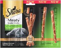 Sheba® Meaty Tender Sticks with Turkey Cat Treats 5-4g Packs