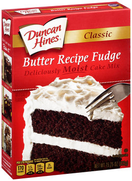 Duncan Hines® Classic Fudge Butter Recipe