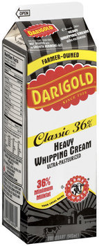 Darigold Heavy Classic 36% Minimum Milkfat Whipping Cream 1 Qt Carton