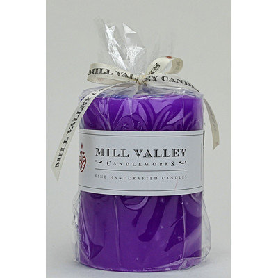 Mill Valley Candleworks French Lavender Scented Pillar Candle Size: 6