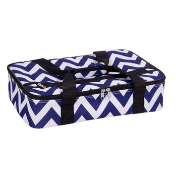 Home Essentials And Beyond Rectangular Casserole Cover Color: Blue