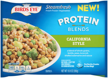 Birds Eye® Steamfresh® California Style Protein Blends 10.8 oz. Bag.