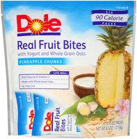 Dole Real Fruit Bites Pineapple Chunks