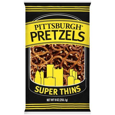 Pittsburgh® Pretzels Super Thins 9 oz BAG