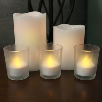 Sweet Home Collection 8 Piece Flameless Candle Set