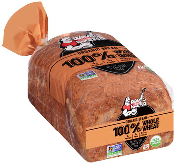 Dave's Killer Bread® 100% Whole Wheat Organic Bread 25 oz. Bag