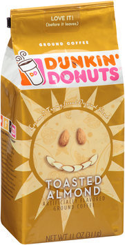 dunkin' donuts® toasted almond ground coffee