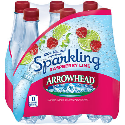 Arrowhead® Sparkling Raspberry Lime Mountain Spring Water