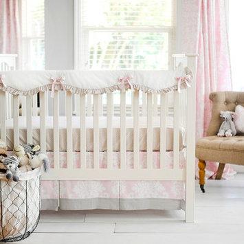 New Arrivals Cross My Heart 2 Piece Crib Bedding Set