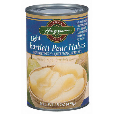 Haggen Light Bartlett Pear Halves