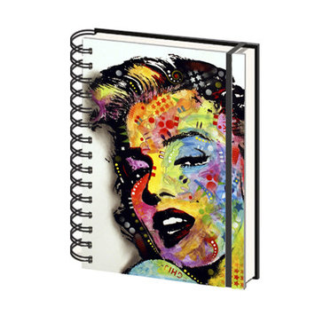 Ace Framing Marilyn Monroe Dean Russo A5 Notebook