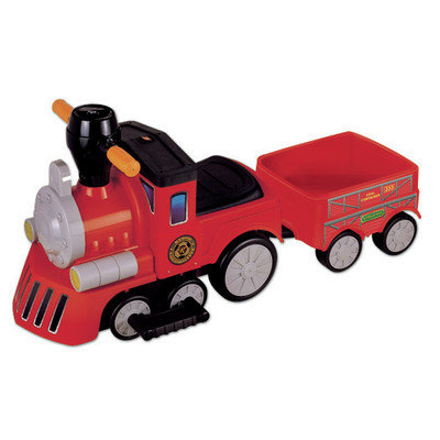 New Star My Mini Express Train w/Trailer-Red