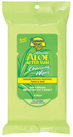 Banana Boat Aloe After Sun Cleansing Wipes 16 Ct Peg