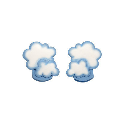 NoJo Clouds 2-Pack Wall Décor Clips