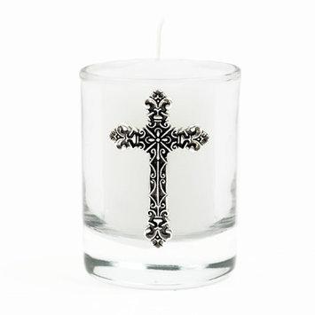 Bobsiemondesigns Elaborate Cross Votive Candle
