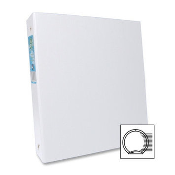 Aurora Products AUA09072 Elements Round Ring White Binders