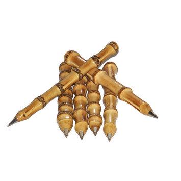 Bamboo54 Bamboo Pens, 6/Pack Color: Natural