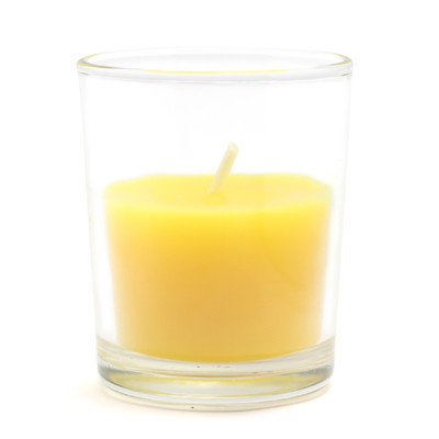 Zest Candle Citronella Round Glass Votive Candle (Set of 12)