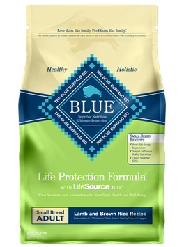 THE BLUE BUFFALO CO. BLUE™ Life Protection Formula® Lamb and Brown Rice Recipe For Small Breed Adult Dogs