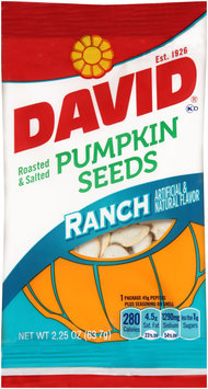 David® Ranch Pumpkin Seeds 2.25 oz. Bag