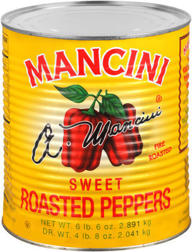 Mancini® Sweet Roasted Peppers 102 oz. Can