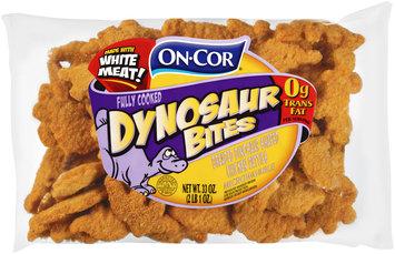 On-Cor® Dynosaur Bites Breaded Dinosaur Shaped Chicken Patties 33 oz. Bag