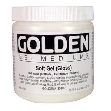 Golden 0003010-5 8oz. - 236ml - Gloss Soft Gel - Medium
