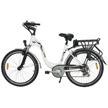 Yukon Trail Xplorer Sport-Hybrid XF26 Womens Electric Bike - White