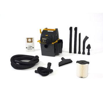 Workshop 5 Gallon 5.0 Peak HP Portable Wall Mount Wet/Dry Vacuum