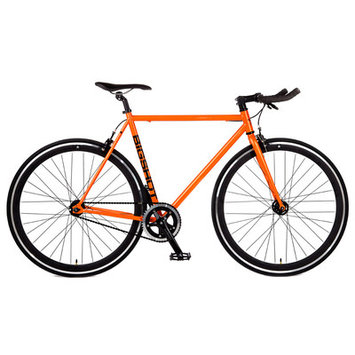 Big Shot Bikes Havana Single Speed Fixed Gear Road Bike Size: 52cm