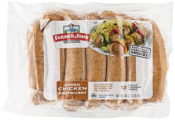 Farmer John® Cured Chicken Bratwurst 12 ct Pack