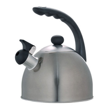 Evco International 72997 Rhapsody Metallic Smoke 2.1 Qt Tea Kettle
