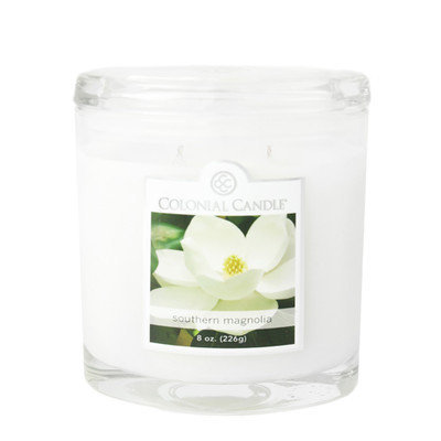 Fragranced in-line Container CC008.2179 8oz. Oval Southern Magnolia