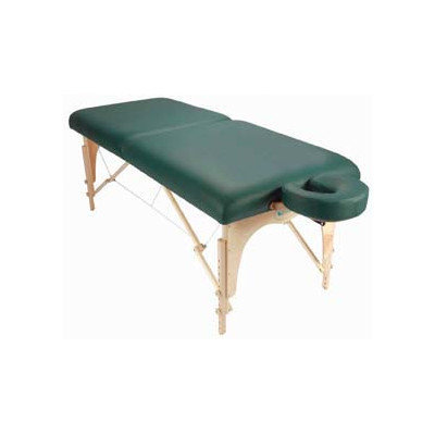 Customcraftworks Omni Table with Carry Case Color: Hunter Green