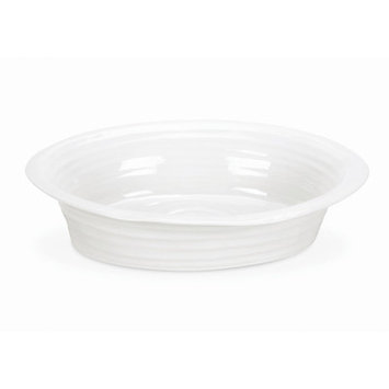 Portmeirion Sophie Conran, Pie Dish, Round White