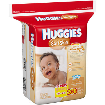 Huggies® Soft Skin Refill Baby Wipes Bag