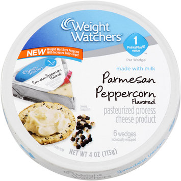 Weight Watchers® Reduced Fat Parmesan Peppercorn Flavored Spreadable Pasteurized Process Cheese Product 4 oz. Carton
