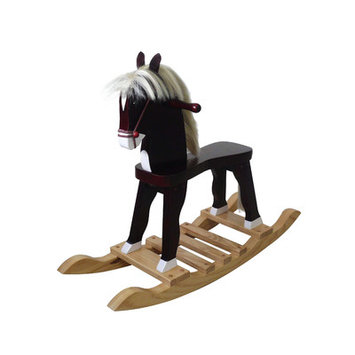 Teamson Kids Derby Prince Rocking Horse - The Windsor Collection