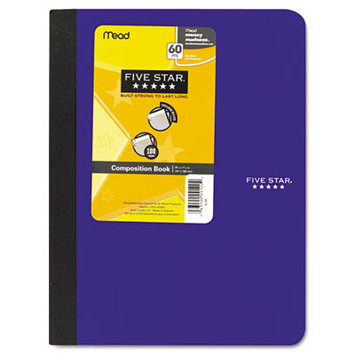 Mead Products Mead Five Star Composition Book, College Rule, 100 Sheets