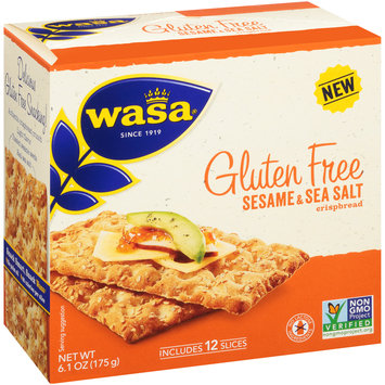 Wasa® Gluten Free Sesame & Sea Salt Crispbread